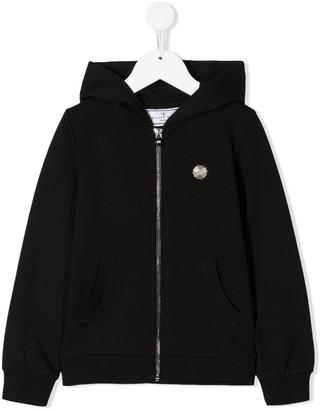Philipp Plein Junior Plein TM hoodie sweat jacket