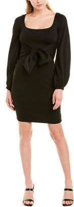 Susana Monaco Tie Waist Shift Dress