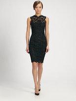 Valentino Heavy Tubino Lace Dress