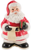 Fitz & Floyd Letters to Santa Cookie Jar with Marker