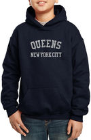 LOS ANGELES POP ART Los Angeles Pop Art Popular Queens Ny Neighborhoods Hoodie-Big Kid Boys