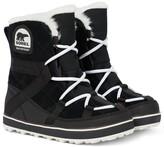 Sorel Glacy Explorer Shortie suede boots