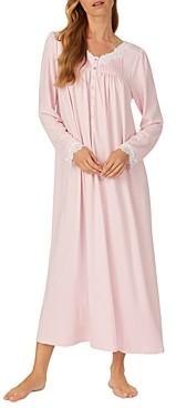 Eileen West Lace Trim Ballet Jersey Nightgown