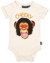 Rock Your Baby Boys Cheeky Monkey Ss Bodysuit (3 - 24M)