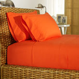 Ralph Lauren Orange Percale Sheeting