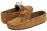 Minnetonka Casey Slipper (Cinnamon Suede) Men's Moccasin Shoes