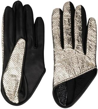 Manokhi Short Perforated Gloves