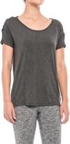 Gaiam Violet T-Shirt - Short Sleeve (For Women)