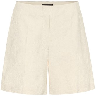 Joseph Tallin high-rise cotton shorts