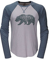 The North Face Long-Sleeve Graphic Baseball Tee