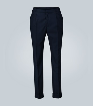Officine Generale Drew pleated cotton pants