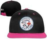 Sofia-Hat Toronto Raptors Toronto Blue Jays Logo Contrast Color Hip Hop Baseball Caps (5 Colors)
