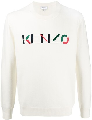 Kenzo Embroidered Logo Jumper