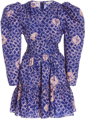 Ulla Johnson Sabine Printed Cotton Mini Dress