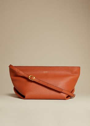 KHAITE The Adeline Crossbody Bag in Sienna Leather