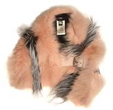 Fendi Bi-colour fox-fur scarf