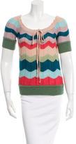Missoni Wool Pullover Knit Top