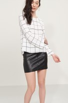 Dynamite Bell Sleeve Top with Back Slits