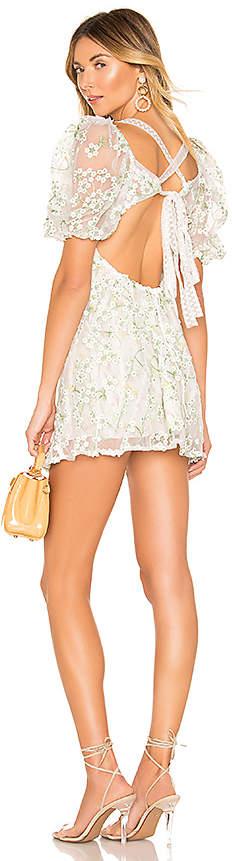 For Love & Lemons Eclair Mini Dress