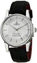 Vivienne Westwood Men's VV065SLBK The Finsbury Analog Display Swiss Quartz Black Watch