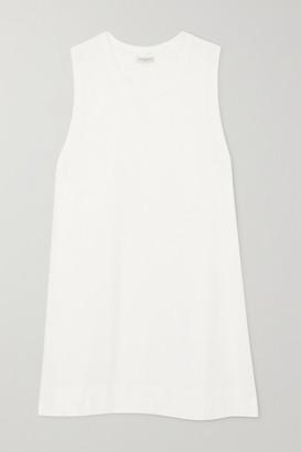 Dries Van Noten Cotton-jersey Mini Dress - White