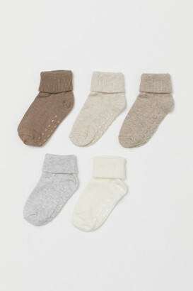 H&M 5-pack Socks - Brown