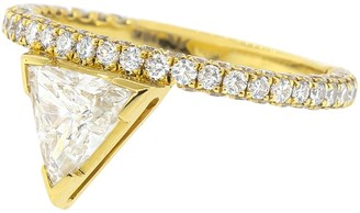 KatKim Floating Trillion Diamond Ring