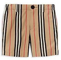 Burberry Little Boy's & Boy's Nicki Icon Stripe Woven Shorts