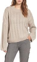 J.o.a. Women's Chunky Textured Sweater
