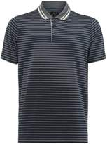 Wolsey Stripe Split Polo