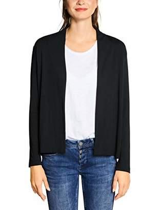 Street One Women's 3167 Cardigan, (Black 10001), (Size: 40)