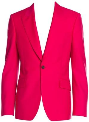 Alexander McQueen Selvedge Wool-Blend Jacket