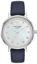 Kate Spade Women's 'Monterey' Leather Strap Watch, 38Mm