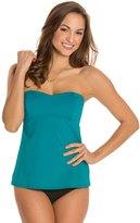 Tommy Bahama Swimwear Pearl Solids Pleated ALine Bandini Bikini Top - 8125510
