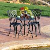 Andover Mills Antin 3 Piece Outdoor Bistro Set