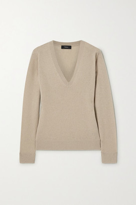 Theory Cashmere Sweater - Beige