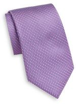 Saks Fifth Avenue Neat Pattern Silk Tie