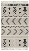 Capel Rectangular Abstract Wool Rug