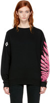 Marcelo Burlon County of Milan Ssense Exclusive Black Pras Sweatshirt