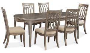 Furniture Kelly Ripa Home Hayley 7 Pc, Kelly Ripa Dining Room Set