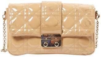 Christian Dior Miss Beige Patent leather Handbags