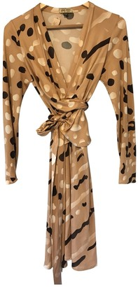 Issa Beige Silk Dresses