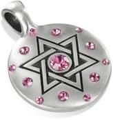 MenAndBeyond.com Golda, Special Jewish Pendant, Swarovski Crystal, Including a Black Choker