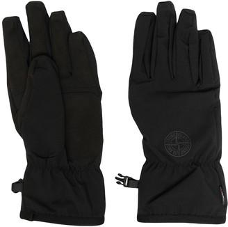 Stone Island Buckled Full-Finger Gloves