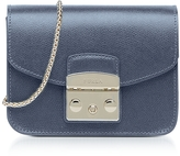 Furla Dark Avio Metropolis Mini Crossbody Bag