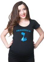Silk Road Tees Pregzilla Maternity T-shirt pregnancy tee jersey top