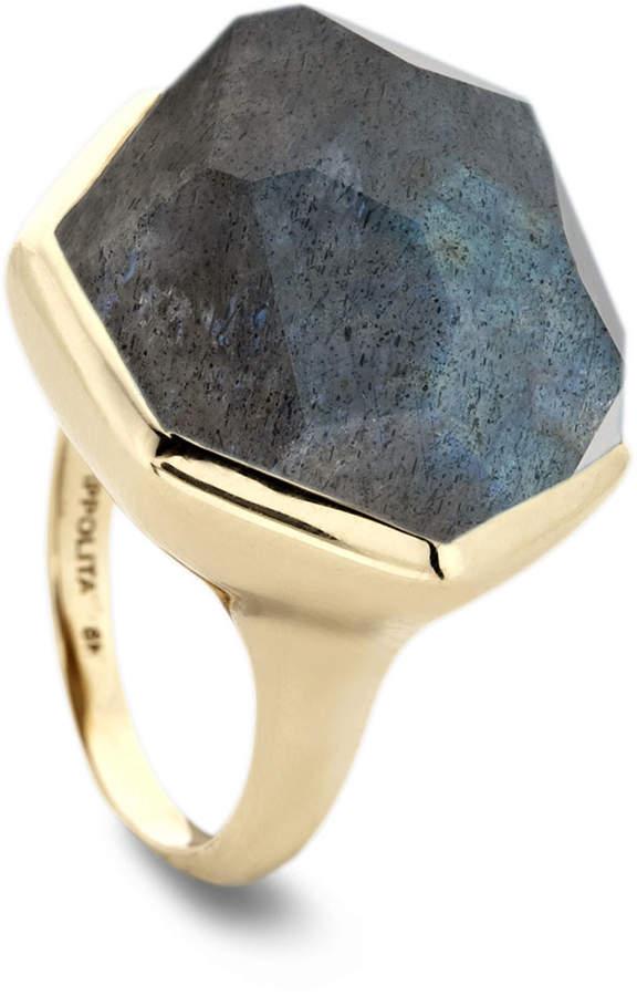 Ippolita 18k Large Labradorite Doublet Ring, Size 7