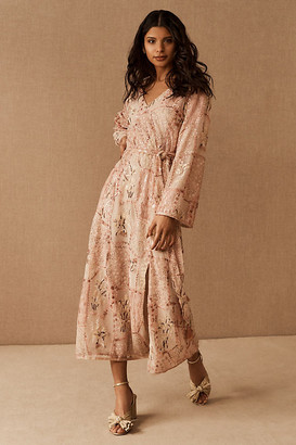 Anna Sui Kenai Midi Dress By Anna Sui in Assorted Size XS