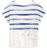 Ralph Lauren Linen Short-Sleeve Top