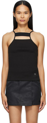 Alyx Black Ribbed Tank Top